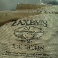 Photo taken at Zaxby's Chicken Fingers & Buffalo Wings by Kirstin C. on 11/8/2011