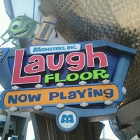 Photo taken at Monsters, Inc. Laugh Floor by Morgan R. on 7/3/2012