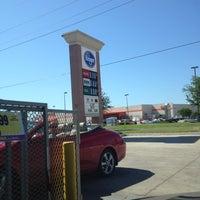 Photo taken at Kroger Gas by Tiffane' W. on 4/22/2012