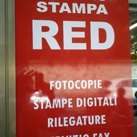 Photo taken at Centro Stampa RED by Davide M. on 9/10/2012