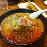 Photo taken at 8番らーめん 大徳店 by Koichi S. on 9/30/2011