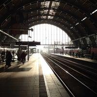 Photo taken at Bahnhof Berlin Alexanderplatz by Stefan M. on 11/3/2011