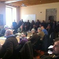 Photo taken at Palazzo della Loggia by Laura C. on 2/14/2012