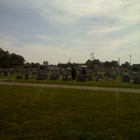 Photo taken at Cedarwood Cemetery by Derrick S. on 5/19/2012