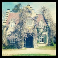Photo taken at Sunnyside: Home of Washington Irving by Alyssa L. on 4/14/2012