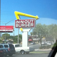 Photo taken at In-N-Out Burger by Stephanie P. on 7/20/2011
