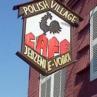 Photo taken at Polish Village Cafe by shane g. on 8/3/2012