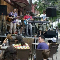Photo taken at Falls Taproom by Omar H. on 6/3/2012