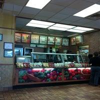 Photo taken at Subway by Trey M. on 10/21/2011