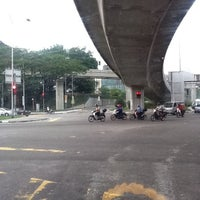 Photo taken at Loke Yew - Hang Tuah Intersection by nizam 1. on 10/15/2011