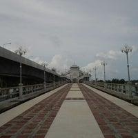 Photo taken at Sarasin Bridge by DRAG &. on 10/25/2011