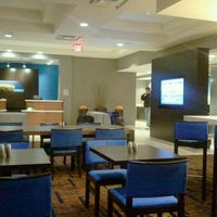 Photo taken at Bistro @ Courtyard by Marriott by Phil N. on 10/28/2011