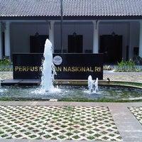 Photo taken at Perpustakaan Nasional RI by Yassir A. on 1/27/2011