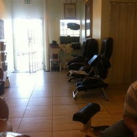 Photo taken at First Class Nails & Spa by Kelly G. on 9/3/2011