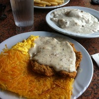 Photo taken at San Diego Home Cooking Mission Valley Cafe by Kirk on 9/25/2011