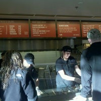 Photo taken at Chipotle Mexican Grill by Benjamin R. on 12/4/2011