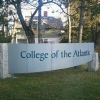 Photo taken at College of the Atlantic by George M. on 11/30/2011