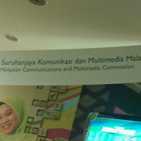 Photo taken at Malaysian Communications & Multimedia Commission (SKMM) by Hassuna N. on 12/23/2011