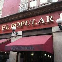 Photo taken at Café El Popular by John S. on 3/4/2012