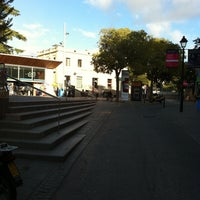Photo taken at Plaça de l'Estació de Sant Cugat by Marc V. on 9/20/2011