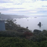 Photo taken at Trinidad Memorial Lighthouse by Winslow C. on 10/15/2011