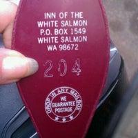 Photo taken at Inn of the White Salmon by Gabriela D. on 5/31/2012