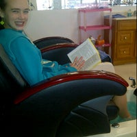 Photo taken at Ladies Nails by Mandy T. on 1/7/2012