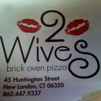 Photo taken at 2Wives Brick Oven Pizza by Courtney C. on 4/28/2012