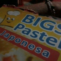 Photo taken at Japonesa - Pastéis by Felipe M. on 6/24/2012