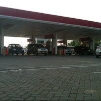 Photo taken at SPBU - Mega Bekasi by deri m. on 5/4/2012