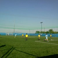 Photo taken at Olympic Park (Football Academy) by Christos C. on 6/2/2012