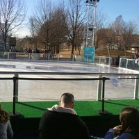 Photo taken at Devon Energy Ice Rink by Mandy W. on 12/30/2011