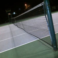 Photo taken at Tennis 25 -Sports Club by Arief J. on 1/13/2012