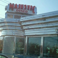 Photo taken at Majestic Diner by Juju R. on 11/12/2011