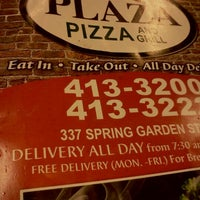 ... Photo Taken At Plaza Pizza U0026amp;amp; Restaurant By Shera S. On ...