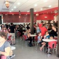 Photo taken at Red Mango by Karen B. on 2/26/2012