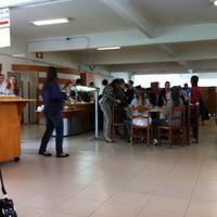 Photo taken at Restaurante Universitário UCS by Cícero M. on 4/12/2012
