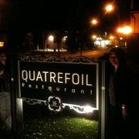 Photo taken at Quatrefoil Restaurant by Melissa S. on 6/15/2012