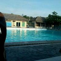 Photo taken at kolam renang Tirta Bhirawa Kopassus by Dimaz P. on 11/19/2011