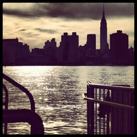 Photo taken at East River Ferry - Hunters Point South/Long Island City Terminal by Michael S. on 5/12/2012