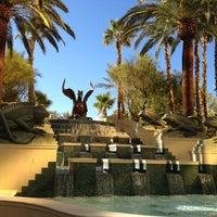 Photo taken at Four Seasons Hotel Las Vegas Pool by Scott G. on 12/6/2011