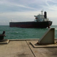 Photo taken at Jetty TG JATI 3-4 by Budie H. on 3/18/2012
