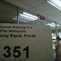 Photo taken at Pos Malaysia by Edham I. on 9/23/2011