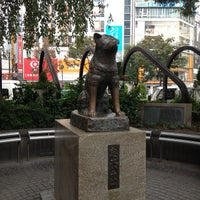 Photo taken at Hachiko Statue by ikeyu on 10/30/2011