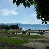 Photo taken at Esplanade de Montbenon by Boris P. on 5/10/2012