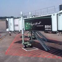 Photo taken at Gate F7 by eko k. on 5/23/2012