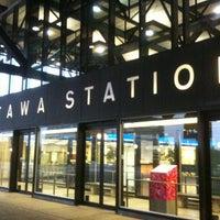Photo taken at VIA Rail Ottawa by Keiichi U. on 11/12/2011