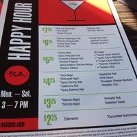 Photo taken at RA Sushi Bar Restaurant by Ashleigh on 7/17/2012