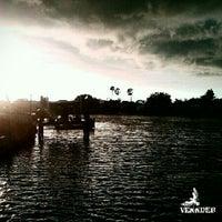 Photo taken at Anclote River Bridge by venndk8 c. on 7/6/2012