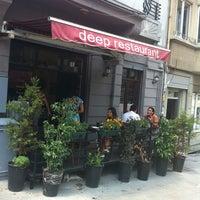 Photo taken at Deep Restaurant & Bistro by Fırat T. on 7/24/2012